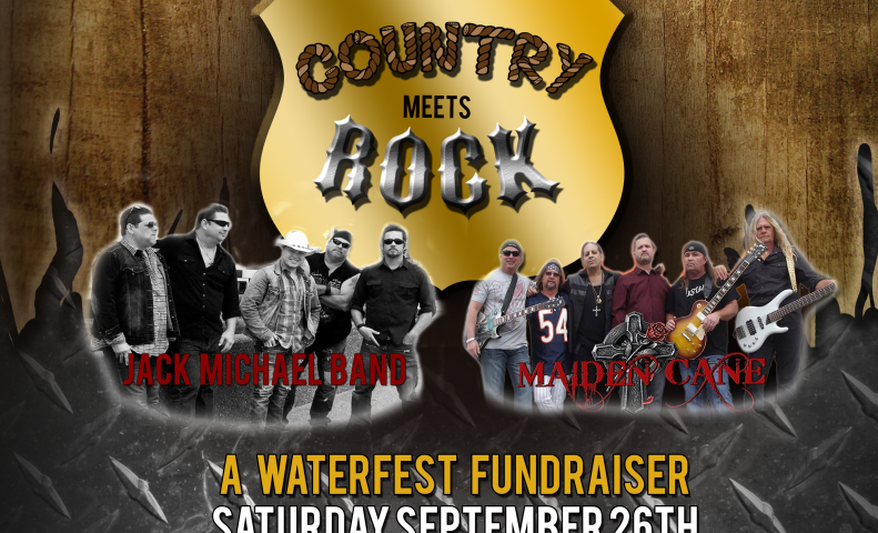Country Meets Rock Waterfest Fundraiser