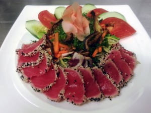 Seared Ahi-Tuna Salad